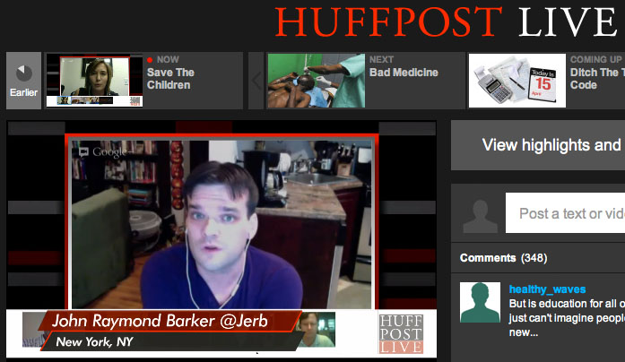 HuffPost Live – Entertainment