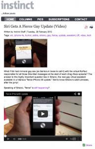 iPhone4S Instinct