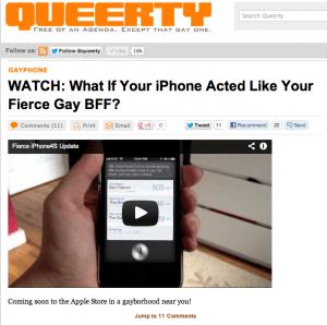 Iphone4S Queerty