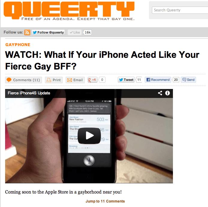 Press for Fierce iPhone4S Update