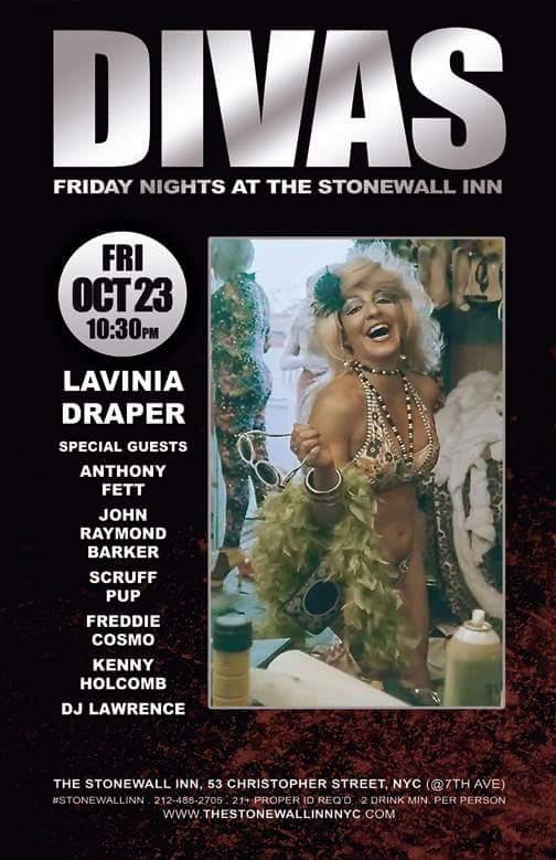 Debuting a VDQ song at Divas at Stonewall