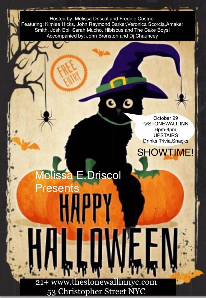 Halloween Happy Hour Costume Party & Showtime at Stonewall