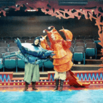rehearsal of scene from The Firebird