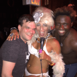 from performing with Lavinia Draper at Stonewall