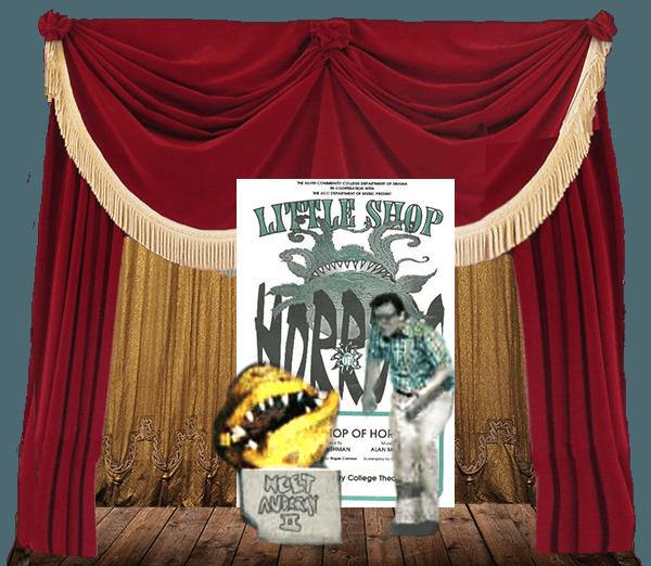 Little Shop of Horrors tableaux