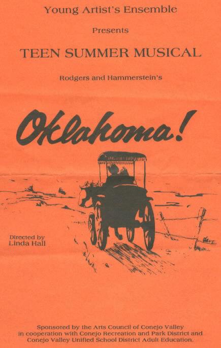 program for Oklahoma!