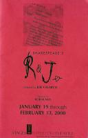 program for Shakespeare's R & J